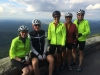 Cyclists at Virginia Overlook