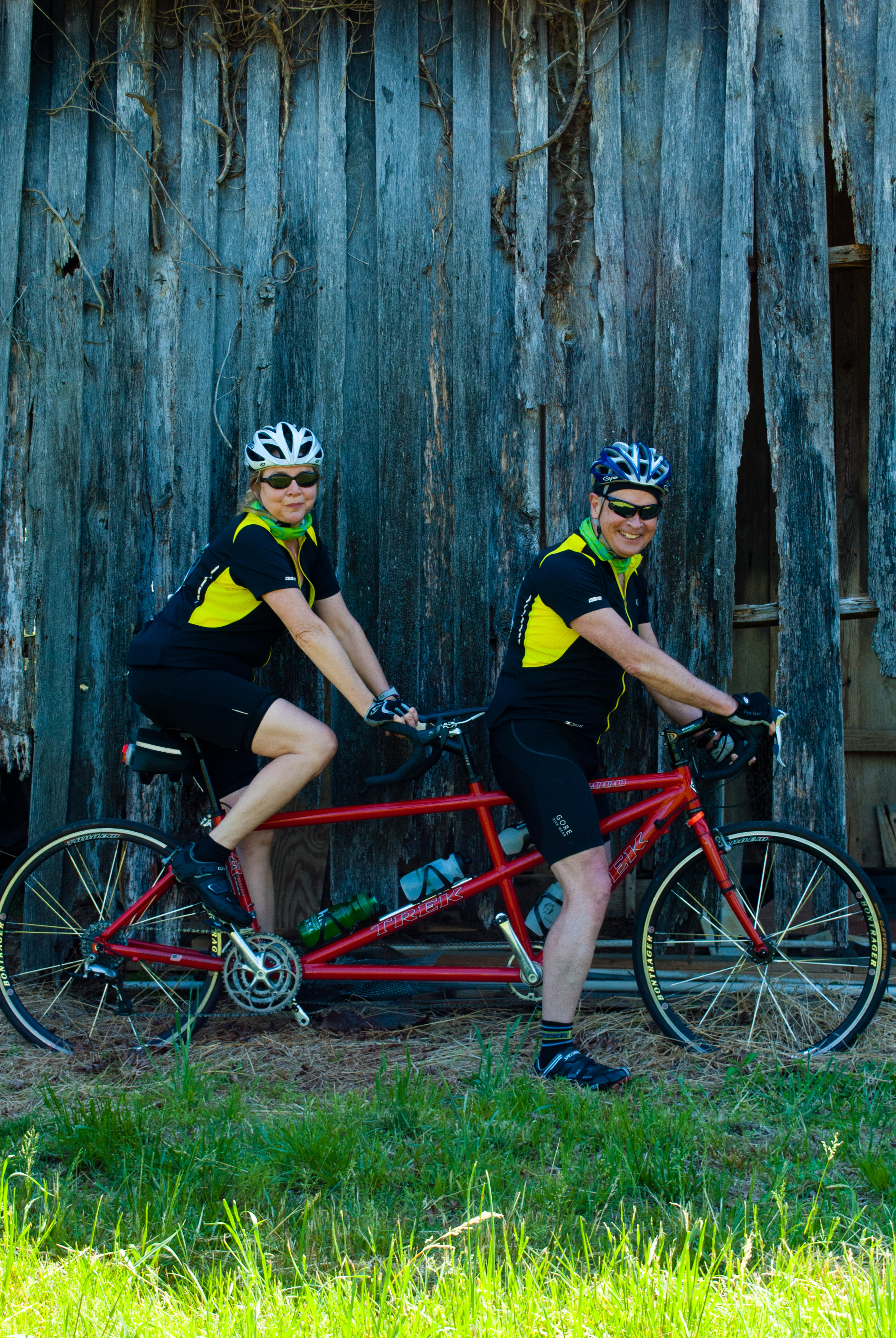 Tandem on Farm
