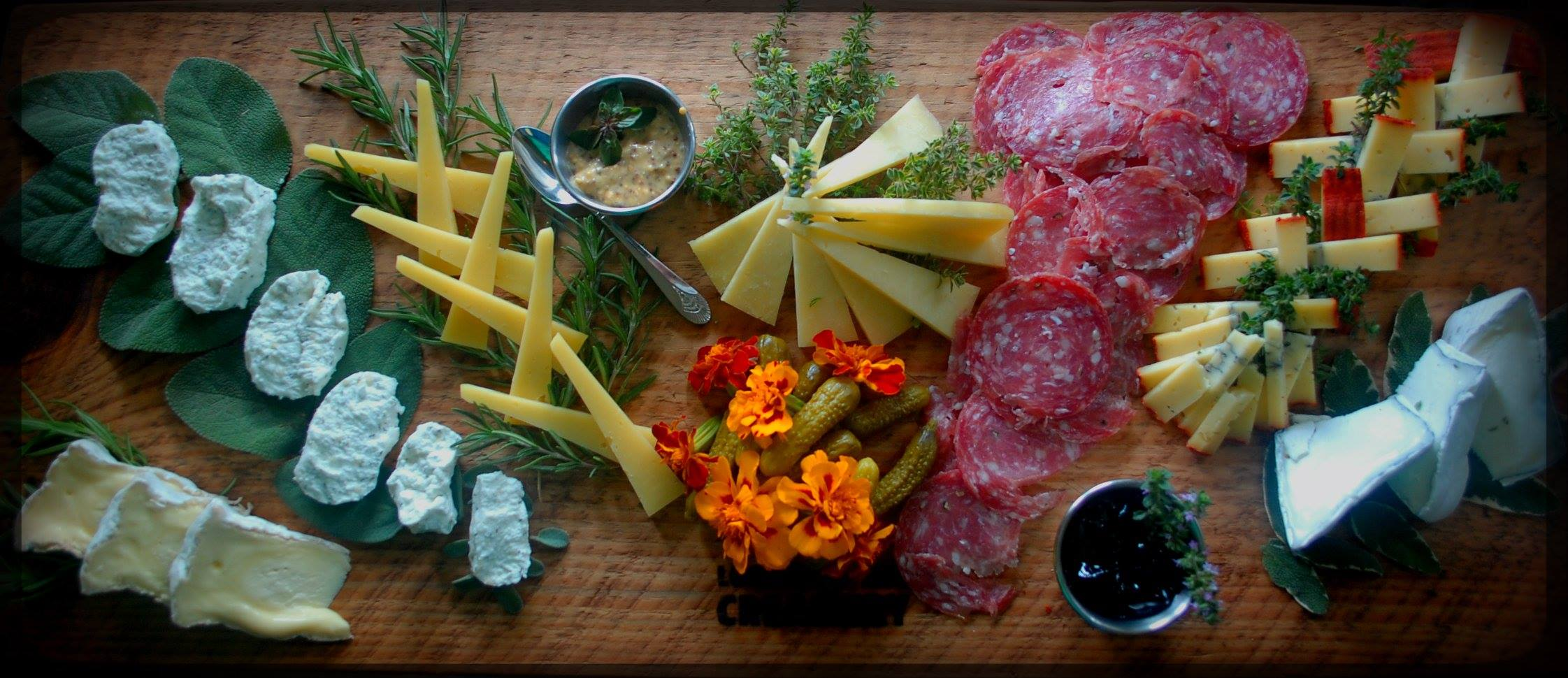 Looking Glass Creamery Cheese Plate