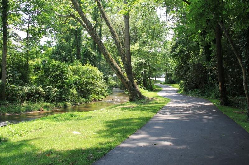 Flatcreek Greenway in Black Mountain