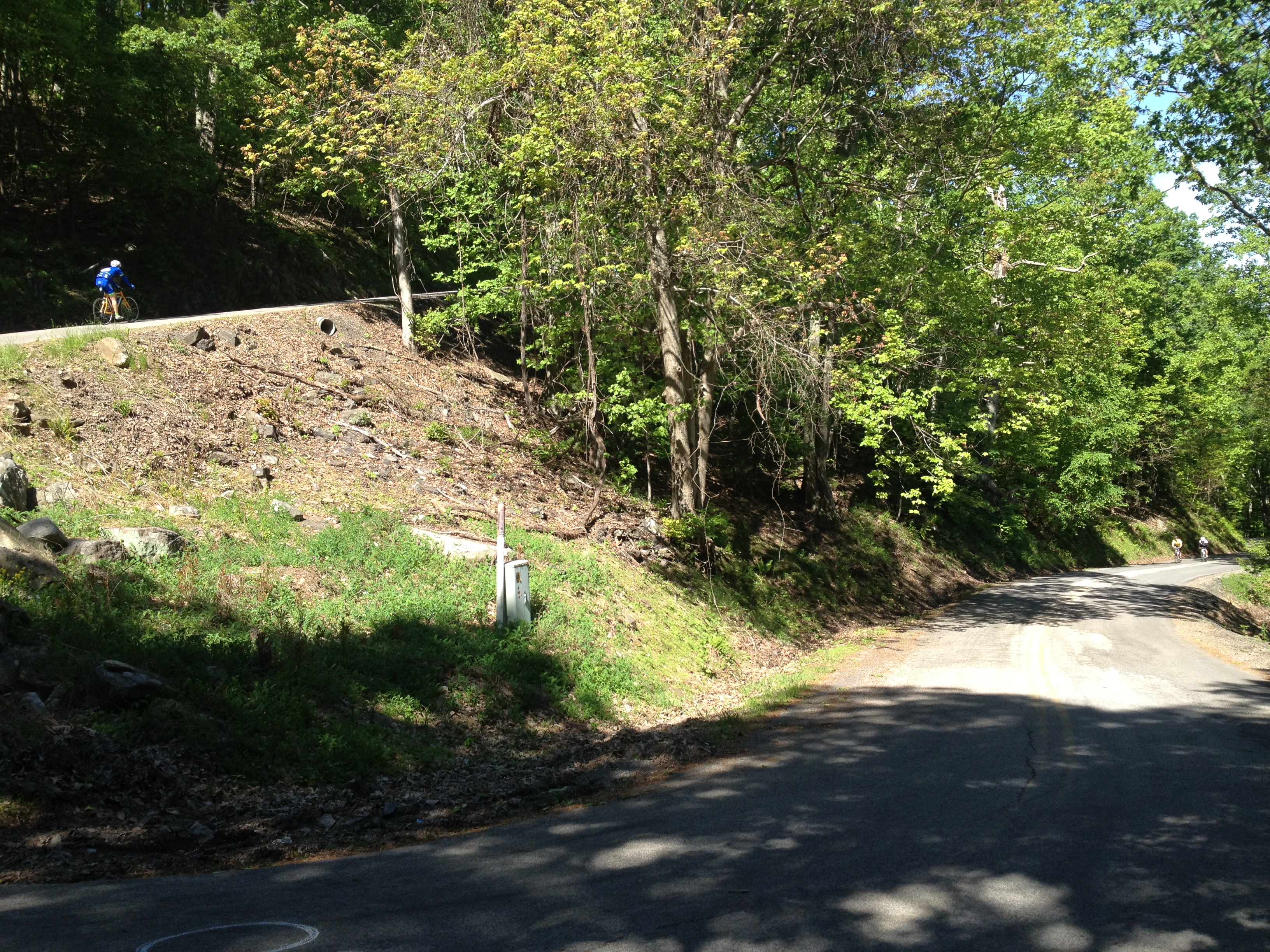 John's Creek Climb while cycling in Virginia