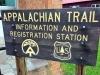 The Appalachian Trail passes through Damascus
