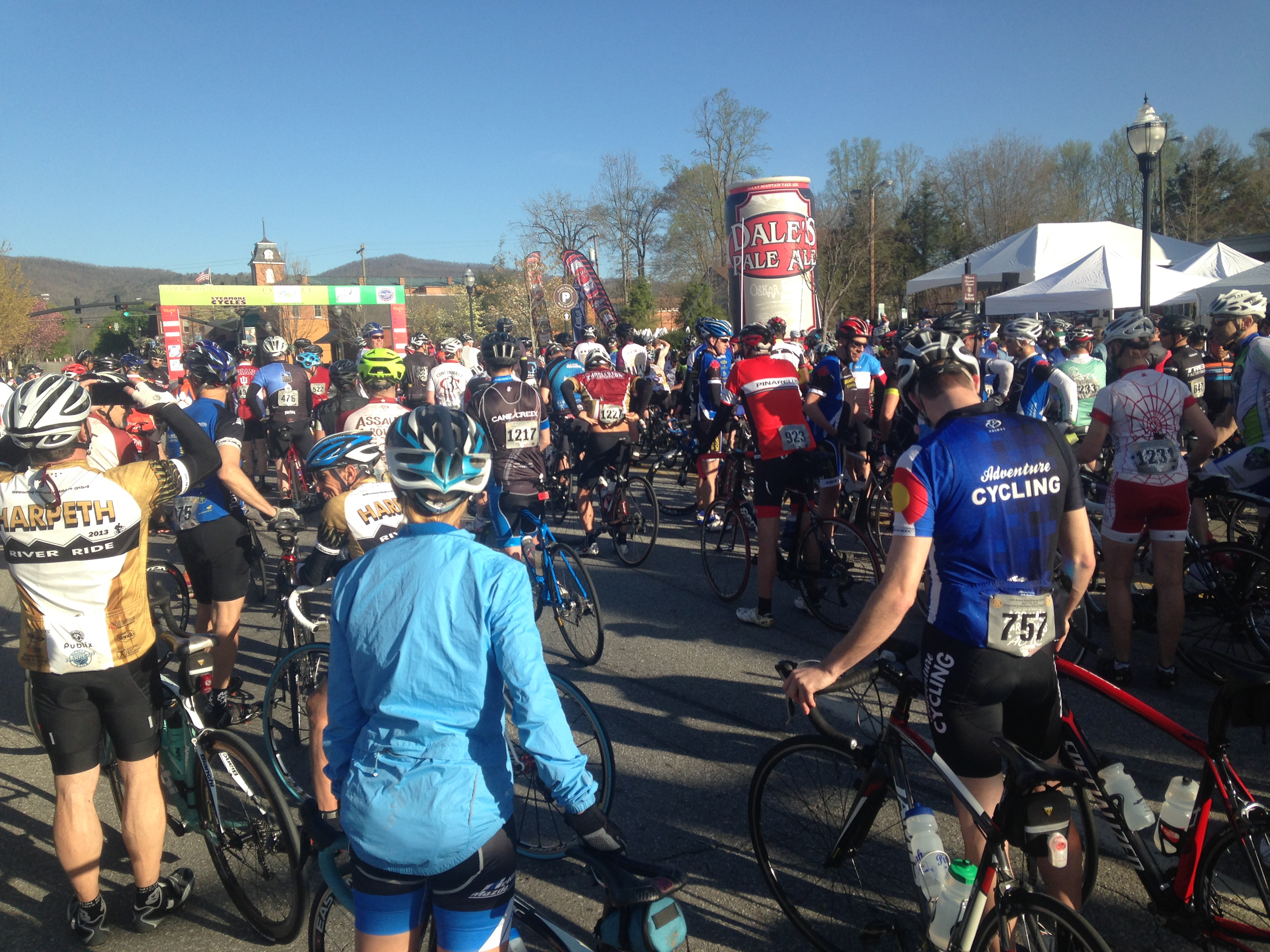 Bike Tour of the Carolinas draws over 1,000 riders