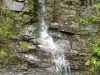 Waterfall located along the Saluda Grade while on Bike Tour of the Carolinas