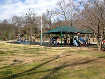 Playground along the Swamp Rabbit Trail