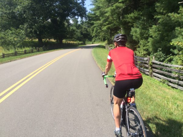 Cycle the Blue Ridge Parkway