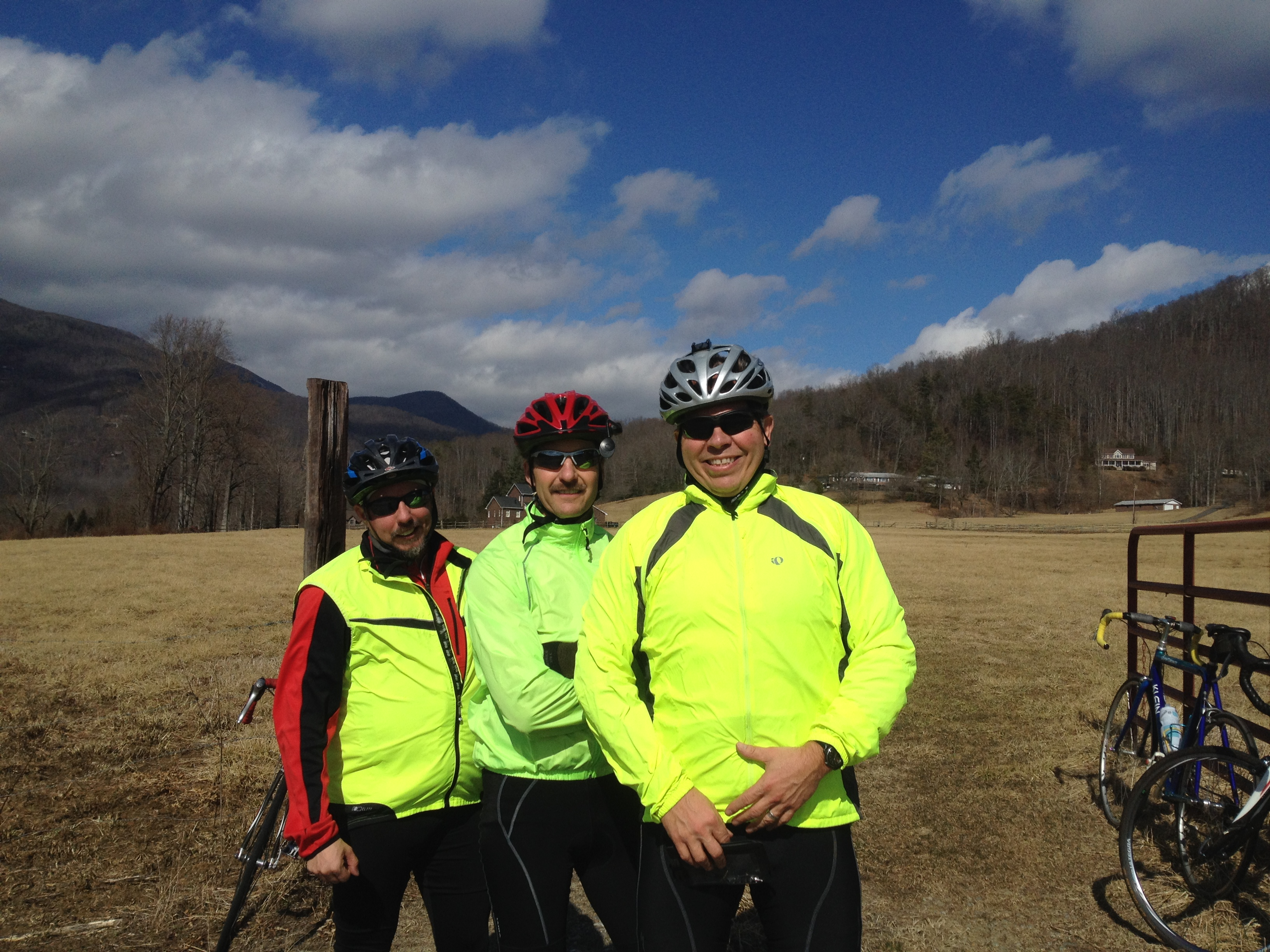 Winter Cycling in Black Mountain
