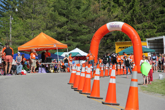 More than 100 volunteers is typical for a road bicycle event