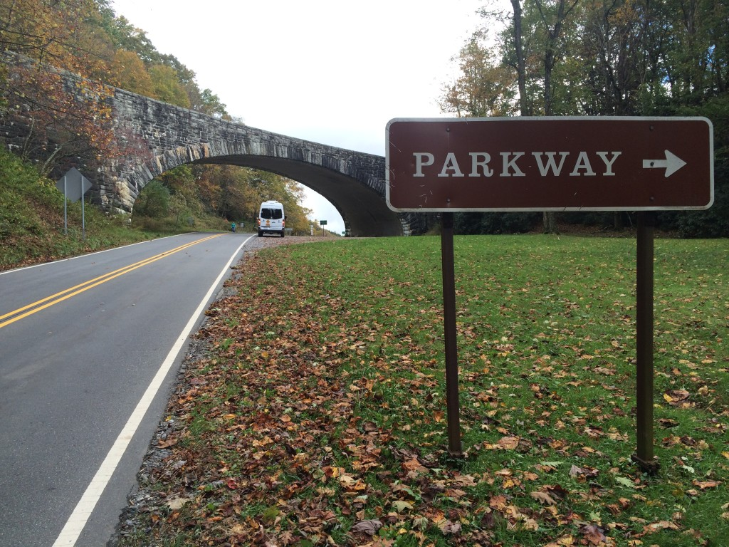 We love guiding cycling tours on the Blue Ridge Parkway