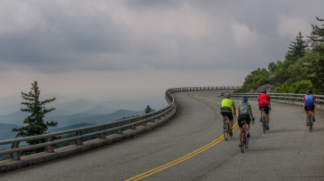 Cycle the Blue Ridge Parkway from End-to-End