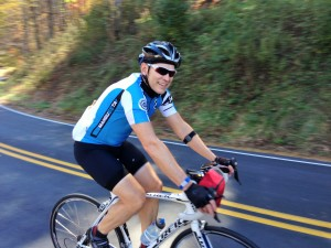 Reed Koch of Seattle WA rode the 10 Day Blue Ridge Parkway Tour in 2013, and returned in 2015 for a custom tour.