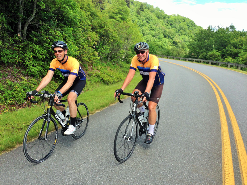 Blue Ridge Parkway Bicycle Tour 7 Day