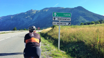 Kristy will need all of her gears to climb Montgenevre