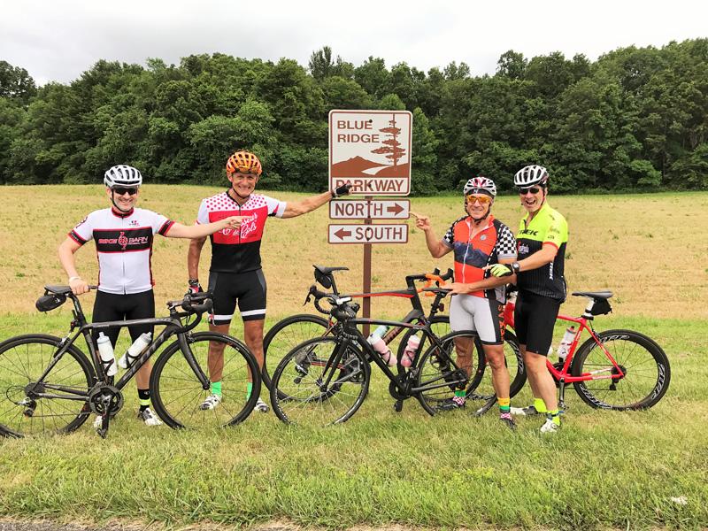 Velo Girl Rides Blue Ridge Parkway